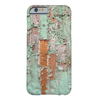 Ladrillo pintado sucio viejo funda para iPhone 6 barely there