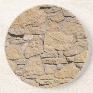 Ladrillo, roca, serie de piedra---Práctico de cost Posavasos Para Bebidas