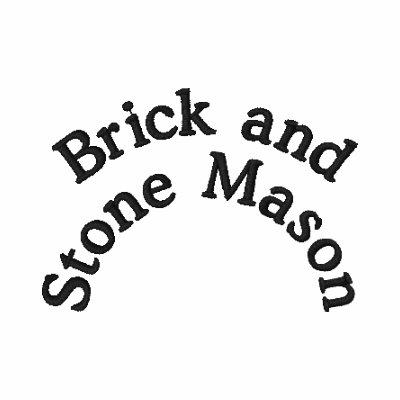 Ladrillo y albañil de piedra