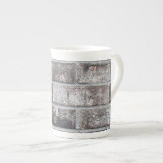 Ladrillo y mortero (impresos: no hecho de taza de porcelana