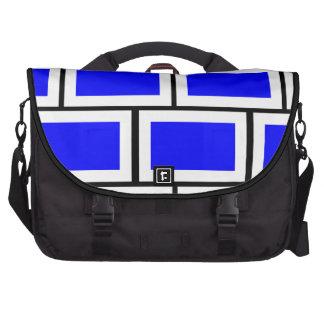 Ladrillos azules bolsas de portátil