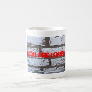 Ladrillos de la pintada taza