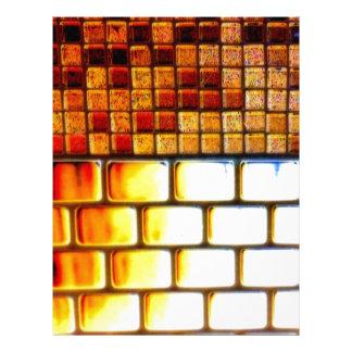 Ladrillos del amor por el microprocesador Fatula Membretes Personalizados