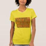 Ladrillos - pavimentadoras de la calle antigua camiseta
