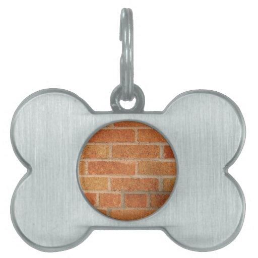 Ladrillos Placas Mascota