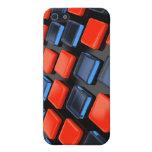 Ladrillos plásticos coloreados iPhone 5 protectores