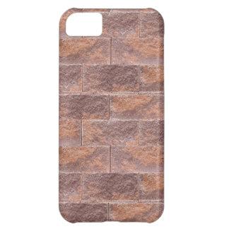 Ladrillos poner crema de la galleta del chocolate: funda para iPhone 5C