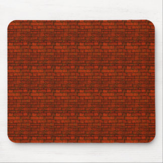 Ladrillos rojos mouse pads