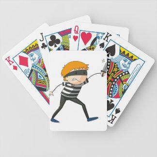 Ladrón Cartas De Juego