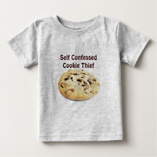 ¡Ladrón confesado uno mismo de la galleta! - Playeras