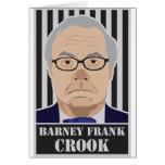 Ladrón de Barney Frank Tarjetón