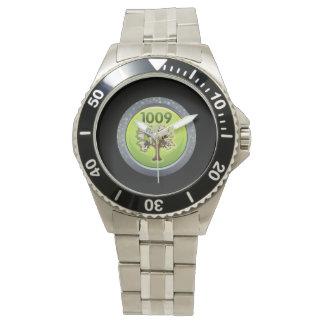Ladrón del pergamino del logro de la interferencia relojes de pulsera
