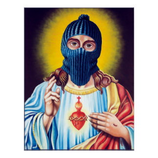 Ladrón disfrazado póster