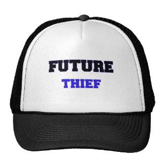 Ladrón futuro gorras de camionero