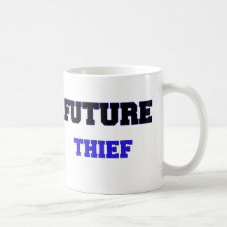 Ladrón futuro tazas