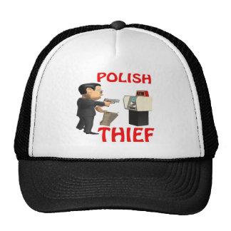 Ladrón polaco gorros