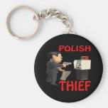 Ladrón polaco llaveros