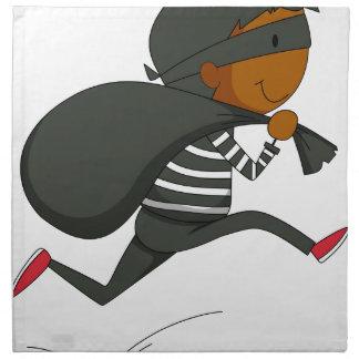 Ladrón Servilletas Imprimidas