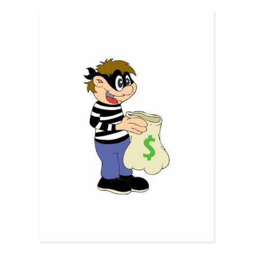 Ladrón Tarjetas Postales