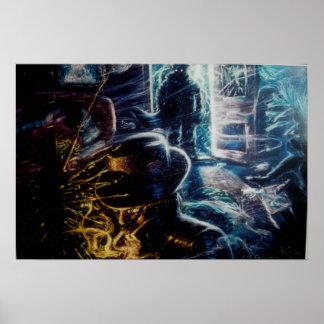 ''Ladrones de la Luz'' c95 Adan Hernandez Poster