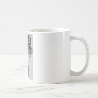 Ladrones del cambio del bolsillo taza de café