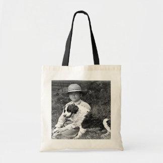Lad's New Friend Tote Bag