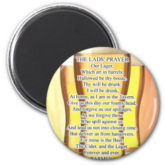 Lads Prayer Magnet