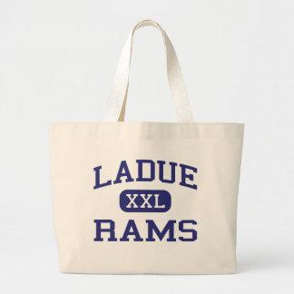 Ladue - Rams - Junior - Saint Louis Missouri Large Tote Bag