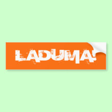 Laduma! Goal! Wall / Laptop / Car Bumper Sticker!