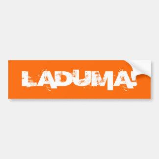 Laduma! Goal! Wall / Laptop / Car Bumper Sticker! Bumper Sticker