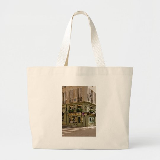 Ladurée Patisserie ~ French Pastries ~ Rue Jacob Large Tote Bag