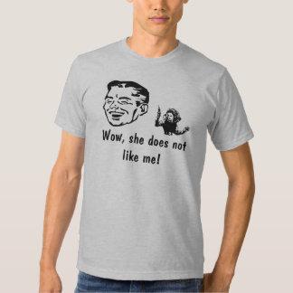 Lady 2 tee shirt