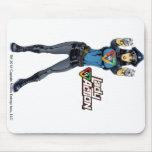 Lady Action Mug - Paul Gulacy Artwork Mouse Pad