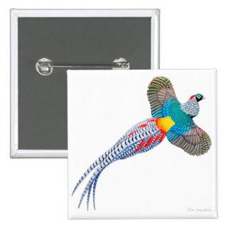Lady Amherst Pheasant Pin