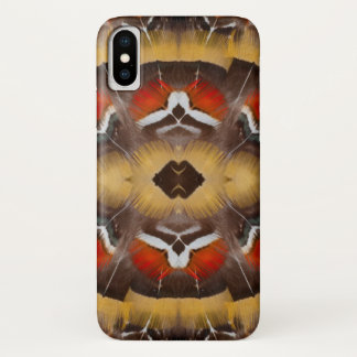 Lady Amherst's Pheasant Feather Design iPhone X Case