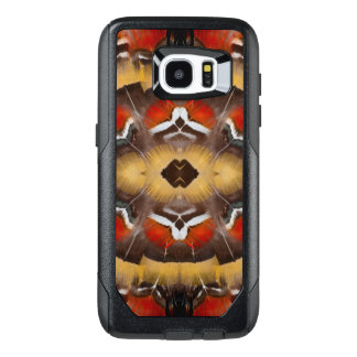 Lady Amherst's Pheasant Feather Design OtterBox Samsung Galaxy S7 Edge Case