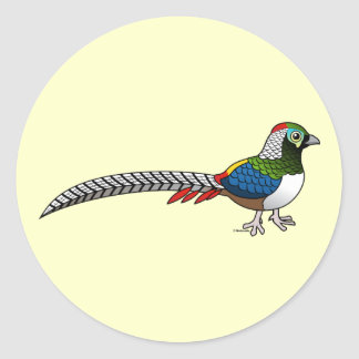 Lady Amherst's Pheasant Sticker