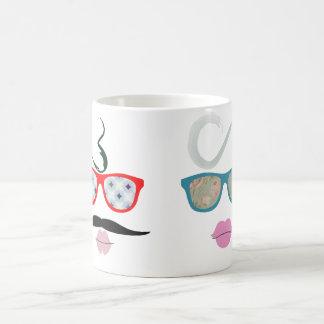lady and gentleman coffee mug