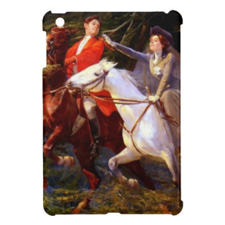 Lady and Gentleman Riding Horses Romantic Love Case For The iPad Mini