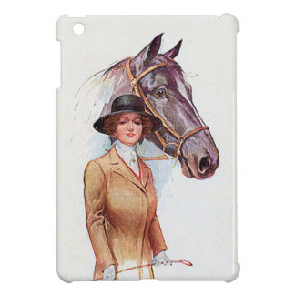 Lady and Horse Cover For The iPad Mini