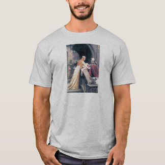 Lady and Knight castle T-Shirt