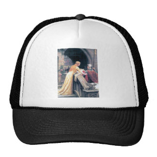 Lady and Knight castle Trucker Hat