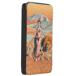 Lady and Lion Galaxy S5 Pouch