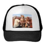 Lady and Sammy - Vizsla Photo-04 Trucker Hat