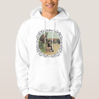 Lady and Scottie in the Park Hoodie