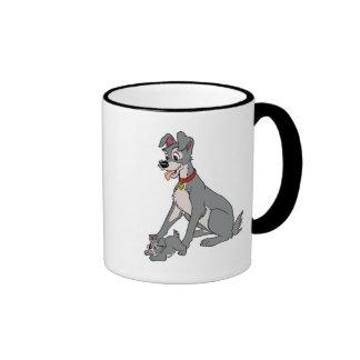 Lady and the Tramp Disney Ringer Mug