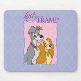 Lady and the Tramp - Frame Mouse Pad