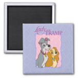 Lady and the Tramp - Frame Refrigerator Magnets