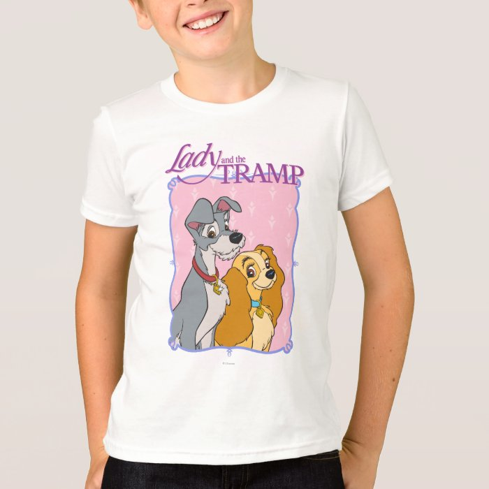 Lady And The Tramp Frame T Shirt Zazzle
