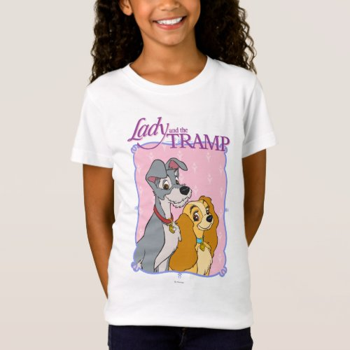 Lady and the Tramp _ Frame T_Shirt